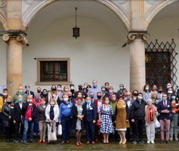 SPPG representatives at the Genealogical Conference in Brzeg