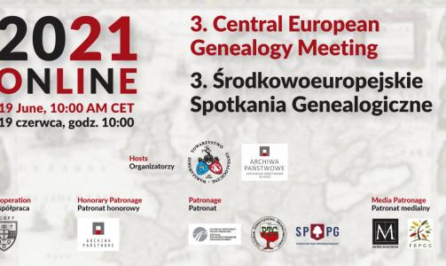 SPPG patronem Środkowoeuropejskich Spotkań Genealogicznych